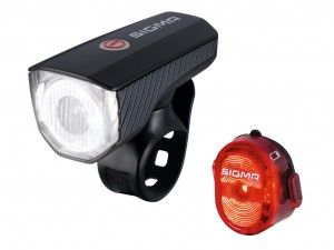Set batt. luci LED Aura 40 USB/Nugget II - SIGMA