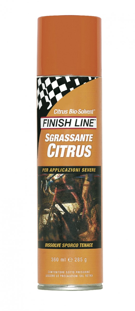 Sgrassante Forte Finish Line Citrus Bisolvente Concentrato Spray 360 ml.