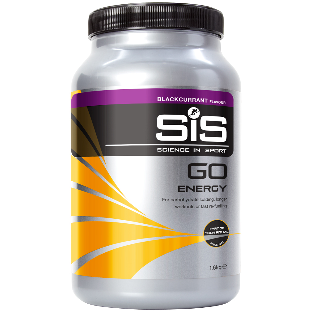 SIS Go Energy Powder Mirtillo. Barattolo 1,6 Kg.