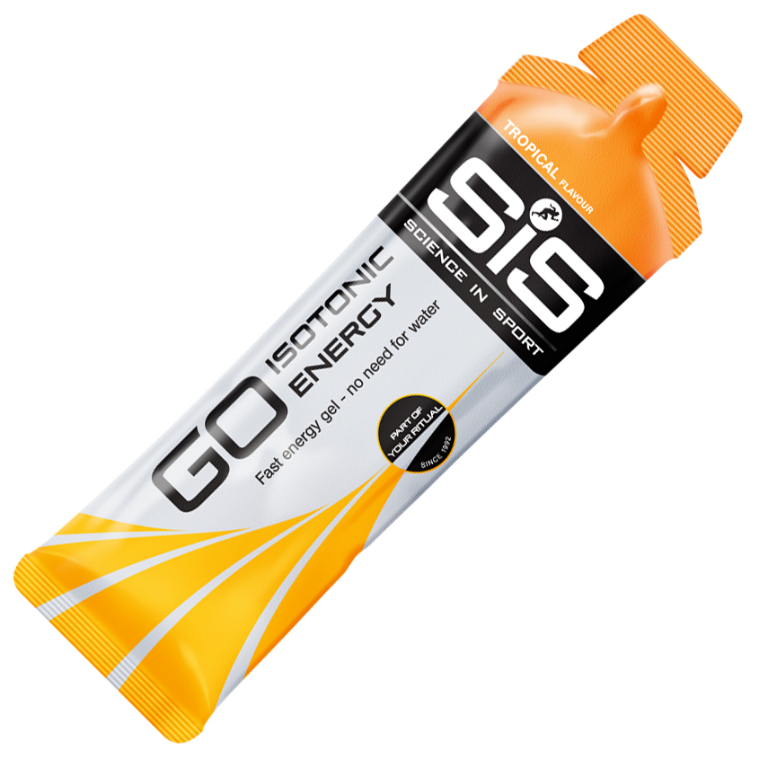 SIS Go Isotonic Energy Gel Tropical. Bustine 60 ml.