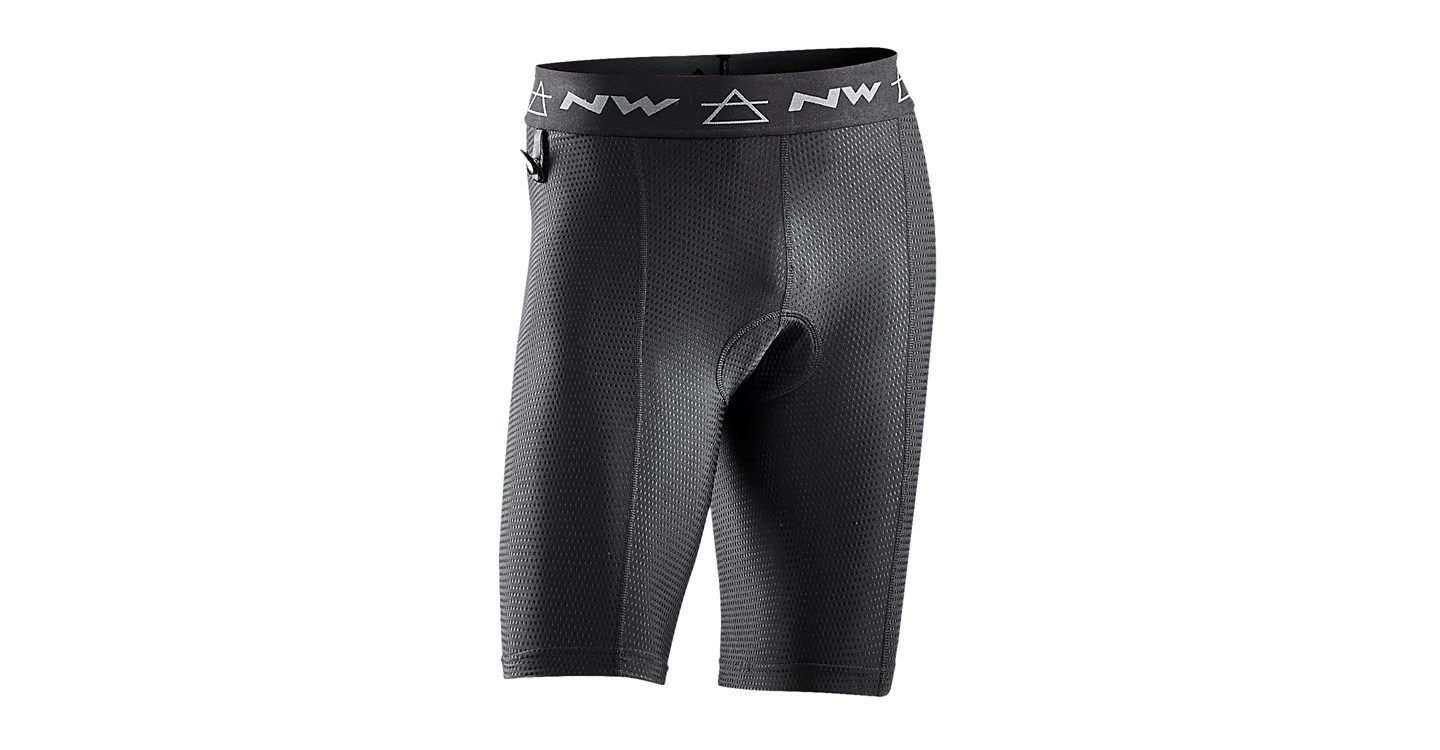 Sottopantaloncini MTB Northwave Outcross Inner Shorts BLACK