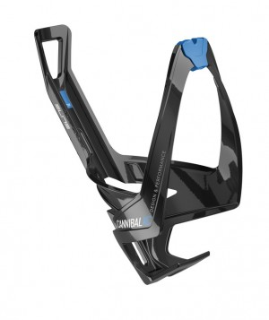 Supporto borraccia Elite Cannibal XC - nero lucido/blu