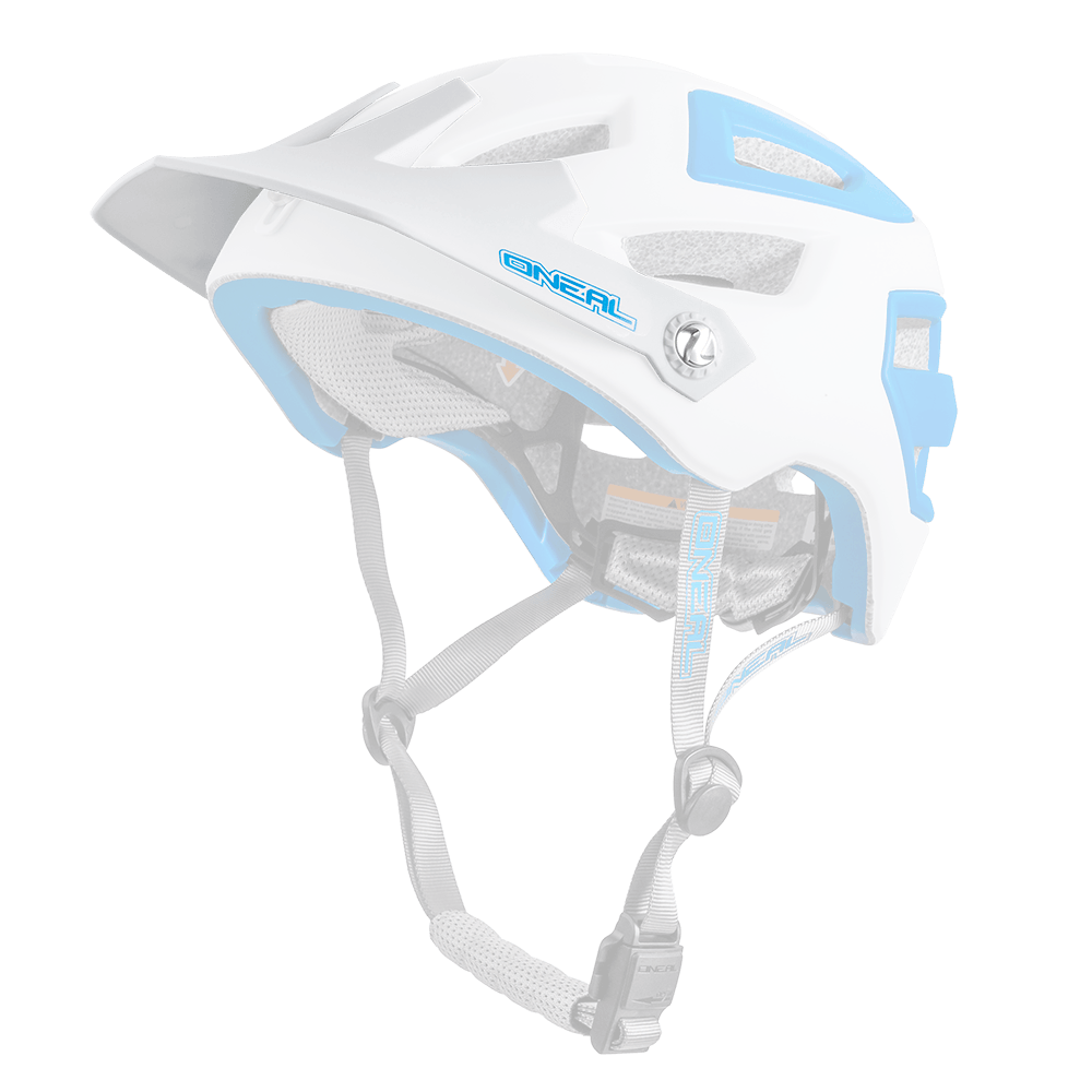 Visiera Casco MTB O'Neal PIKE  WHITE/BLUE