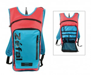 Water bag Zefal Z Light Hydro L - con 2 litri water bag rosso/blu