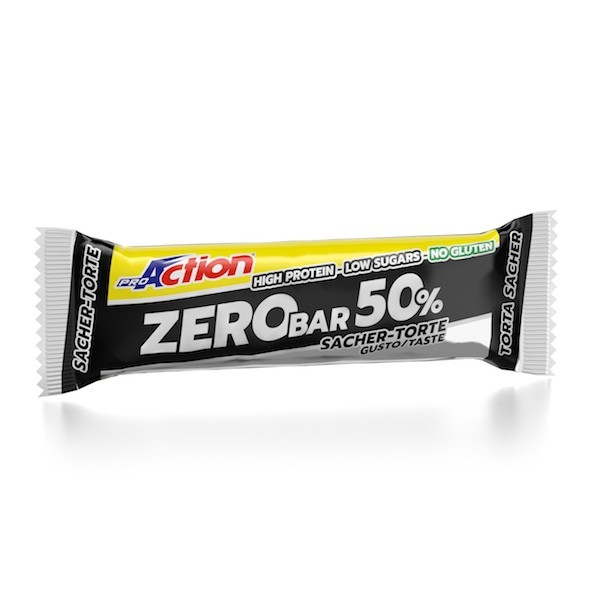 ProAction ZERO BAR 50% Torta Sacher - Barretta 60 gr.