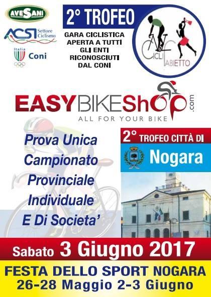 2° Trofeo Città di Nogara - 3 Giugno 2017